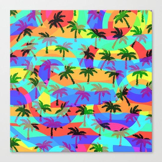 Tropical euphoria Canvas Print