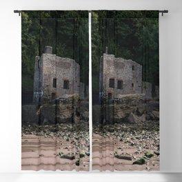 Elberry Cove Bath House Blackout Curtain
