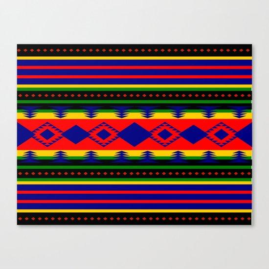 Aztec Summer Canvas Print