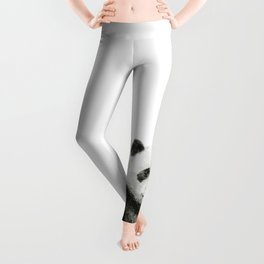 Baby Panda Watercolor Leggings