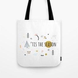 Minimal Holiday Designs :: 'Tis The Season Tote Bag