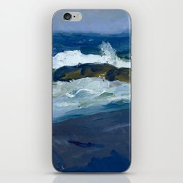 "George Wesley Bellows ""Rock Reef, Maine"" iPhone Skin"