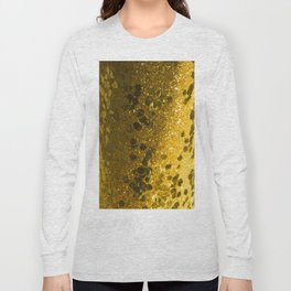 Gold Glitter Bomb Long Sleeve T-shirt
