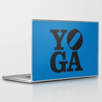 yoga Laptop & iPad Skins featuring YoGA by CGould
