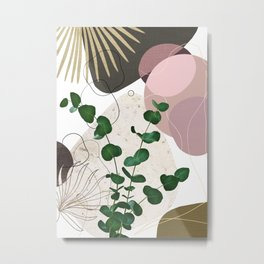 Eucalyptus Fan Palm Finesse #3 #tropical #decor #art #society6 Metal Print