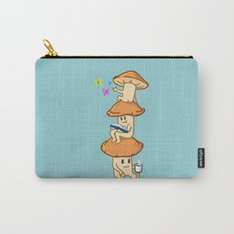 A Mushroom Cluster's Everyday Life Carry-All Pouch