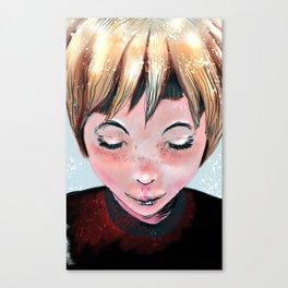Sleepy head 01 Canvas Print