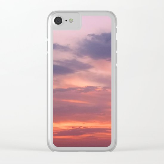 Painting Sky Clear iPhone Case