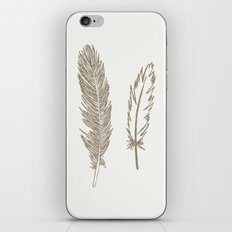 Luxe Feathers iPhone & iPod Skin