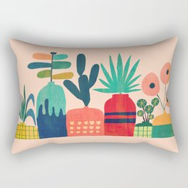 Plant mania Rectangular Pillow
