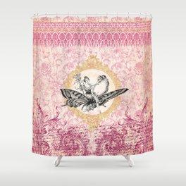 Vintage Fairy Queen Shower Curtain