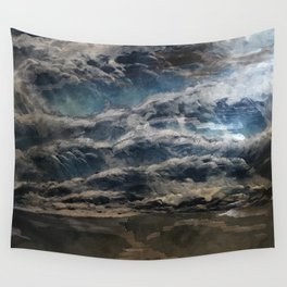The Storm Shall Pass Wall Tapestry