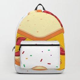 sandwich illustration Backpack