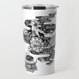 Space Music Travel Mug