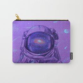 Astronaut in Space Carry-All Pouch