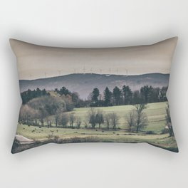 Vermont Landscape Rectangular Pillow