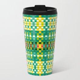 Calypso Tartan / Mango Verde Travel Mug