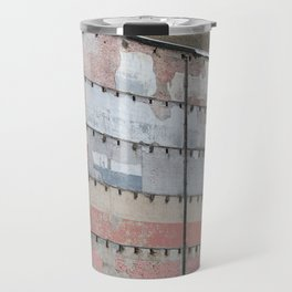 Architectural Detail Wall, Salvage, Old building, Chicago Travel Mug