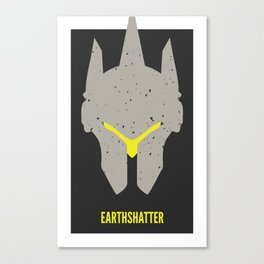 Earthshatter Canvas Print