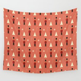 Christmas nutcrackers Wall Tapestry