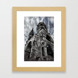 Berlin [Sky cut 404] Germany Framed Art Print
