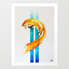 As Above, So Below...  Art Print