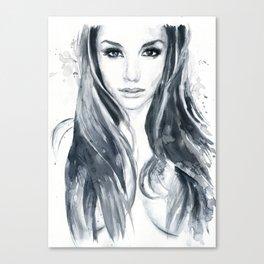 Tori Black Canvas Print