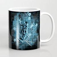 fringe Mugs featuring Fringe by Veruca Crews