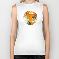 woodstock Biker Tanks featuring This Could Be Love by Shipwreck Moon Designs