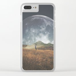 The noise made by meanings Clear iPhone Case