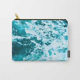 Deep Turquoise Sea - Nature Photography Carry-All Pouch