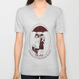 A Series of Unfortunate Events Unisex V-Neck
