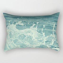 The Sea III. Rectangular Pillow