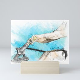 The Drive Mini Art Print