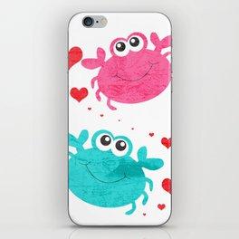 Love Crab iPhone Skin