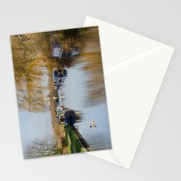 Canal at Alrewas Stationery Cards