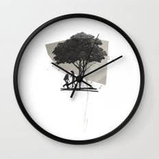 (Down By The) Family Tree | Collage Wall Clock