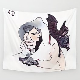 Los Caprichos ~ 45 ~ Plenty to Suck Wall Tapestry