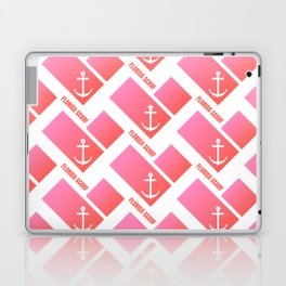 Florida Scarf Fat Pink Logo Laptop & iPad Skin