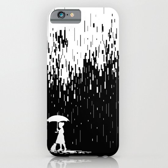Pixel Rain iPhone & iPod Case