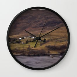 New Years Day, one year in Ullapool. Wall Clock
