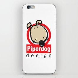 Piperdog Design Logo iPhone Skin