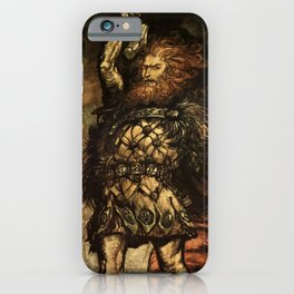 """My Hammer's Swing"" by Arthur Rackham iPhone Case"