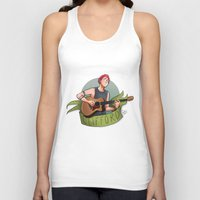 michael clifford Tank Tops featuring CLIFFORD by gabitozati