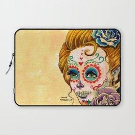 Dia de los Muertos Roses Laptop Sleeve