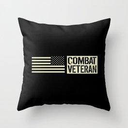 Combat Veteran Throw Pillow
