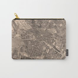 Vintage Map of Berlin Germany (1862) Carry-All Pouch