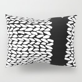 Missing Knit On Side Pillow Sham