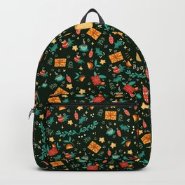 Merry Christmas panettone  Backpack