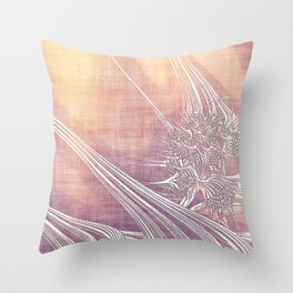 La Vie antérieure (My Former Life) Throw Pillow